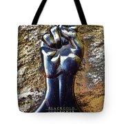 Black Gold Soul Power Tote Bag