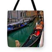 Black Gondola Tote Bag