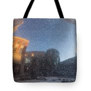 Black Granite Sphere Tote Bag