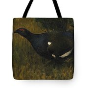 Black Grouse Cock Tote Bag
