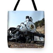 Black Hawk Train Tote Bag