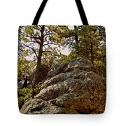 Black Hills Boulders Tote Bag