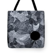 Black Hole - Galvanized Steel - Abstract Tote Bag