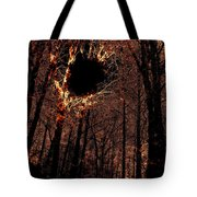 Black Hole Sun Tote Bag