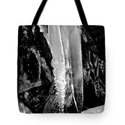 Black Ice #2 Tote Bag