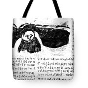 Black Ivory Issue 1 Page 3 Tote Bag