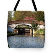 Black Jacks Bridge And Lock Tote Bag