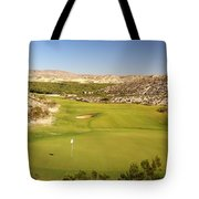 Black Jack's Crossing Golf Course Hole 12 Tote Bag