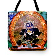 Black Jambhala  5 Tote Bag
