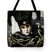 Black Jester Tote Bag