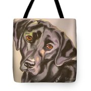 Black Lab Aint No Cure For Love Tote Bag