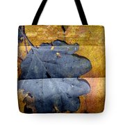 Black Leaf Couch Tote Bag