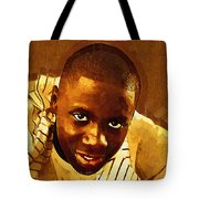 Young Black Male Teen 1 Tote Bag
