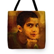 Young Black Male Teen 3 Tote Bag