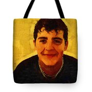 Young Black Male Teen 4 Tote Bag