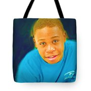 Young Black Male Teen 5 Tote Bag