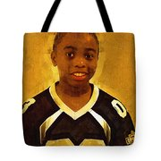 Young Black Male Teen 6 Tote Bag