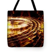 Black Maple Tote Bag