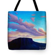 Black Mesa Sunset Tote Bag