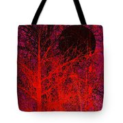 Black Moon Tote Bag