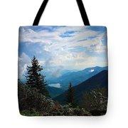 Black Mountain On Blue Ridge Tote Bag