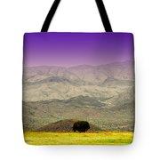 Black Mountains Az Tote Bag