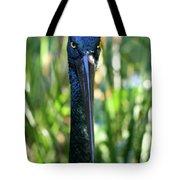 Black Necked Stork Tote Bag