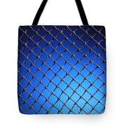 Black Net Tote Bag