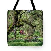 Black Oak And Creek Tote Bag