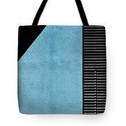 Black On Blue Tote Bag