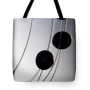 Black Pearls Tote Bag
