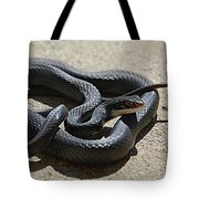 Black Racer Tote Bag