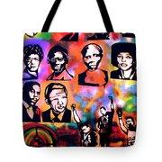 Black Revolution Tote Bag