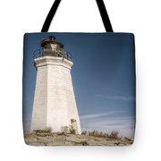 Black Rock Harbor Lighthouse II Tote Bag
