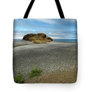 Black Sand Beach On The Lost Coast Tote Bag