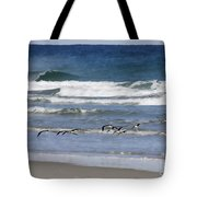 Black Skimmers In Ponce Tote Bag