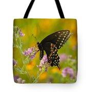 Black Swallowtail Tote Bag by Robert Frederick