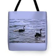 Black Swan Family Tote Bag