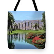 Black Swan In Palm Springs Tote Bag
