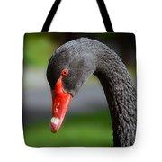 Black Swan Portrait Tote Bag