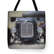 Black T-bucket Tote Bag