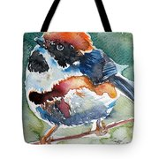 Black- Throated Tit Tote Bag