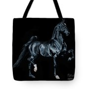 Black Tie Affair Featuring Saddlebred Champion Undulata's Made In Heaven Tote Bag
