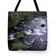 Black Waters Tote Bag
