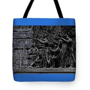 Black When Haitians Were Heroes In America Series Print No. 2 With Text Tote Bag