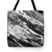 Black White Modern Art Tote Bag
