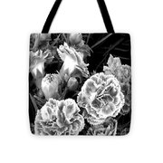 Black White View  Tote Bag