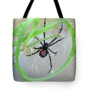 Black Widow Wheel Tote Bag