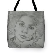 Black Writer Tote Bag