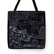 Black Zen 4 Tote Bag